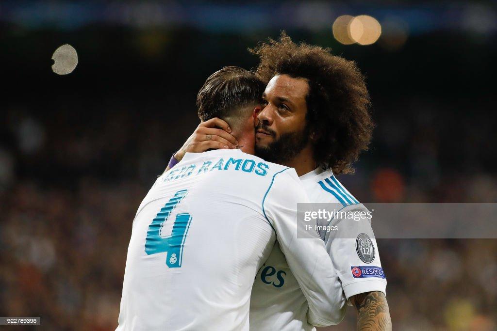 Real Madrid v Paris Saint-Germain - UEFA Champions League Round of 16: First Leg : News Photo