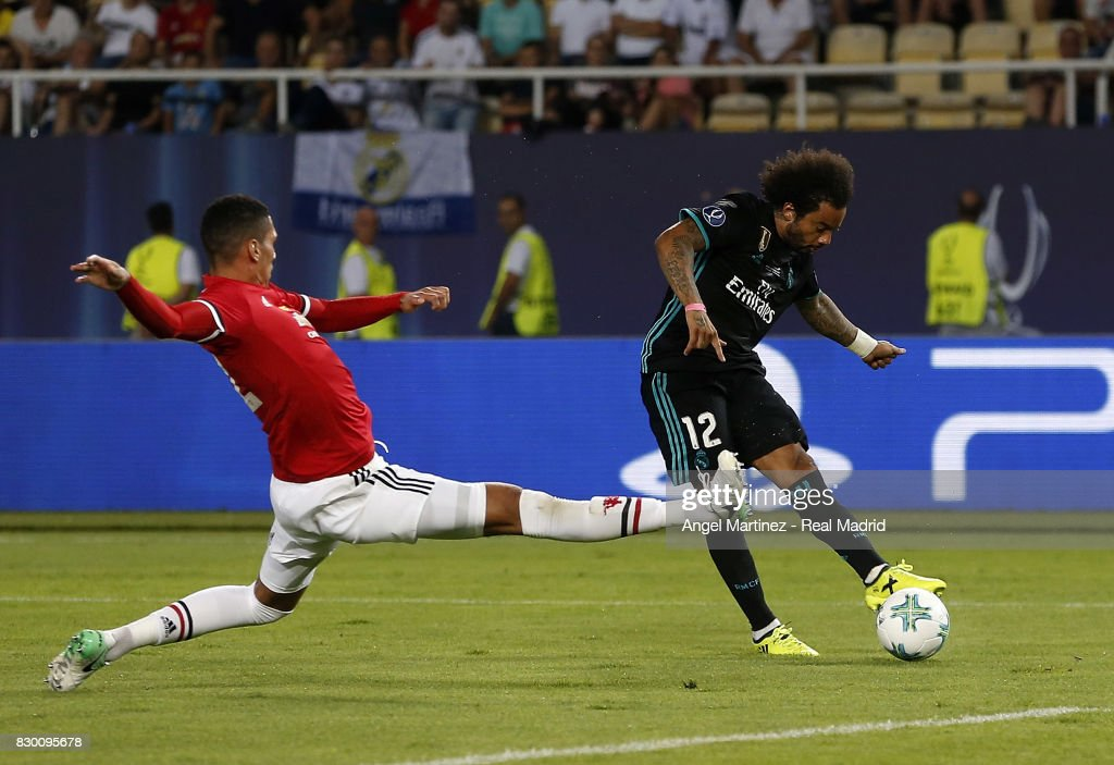 Real Madrid v Manchester United: UEFA Super Cup : ニュース写真