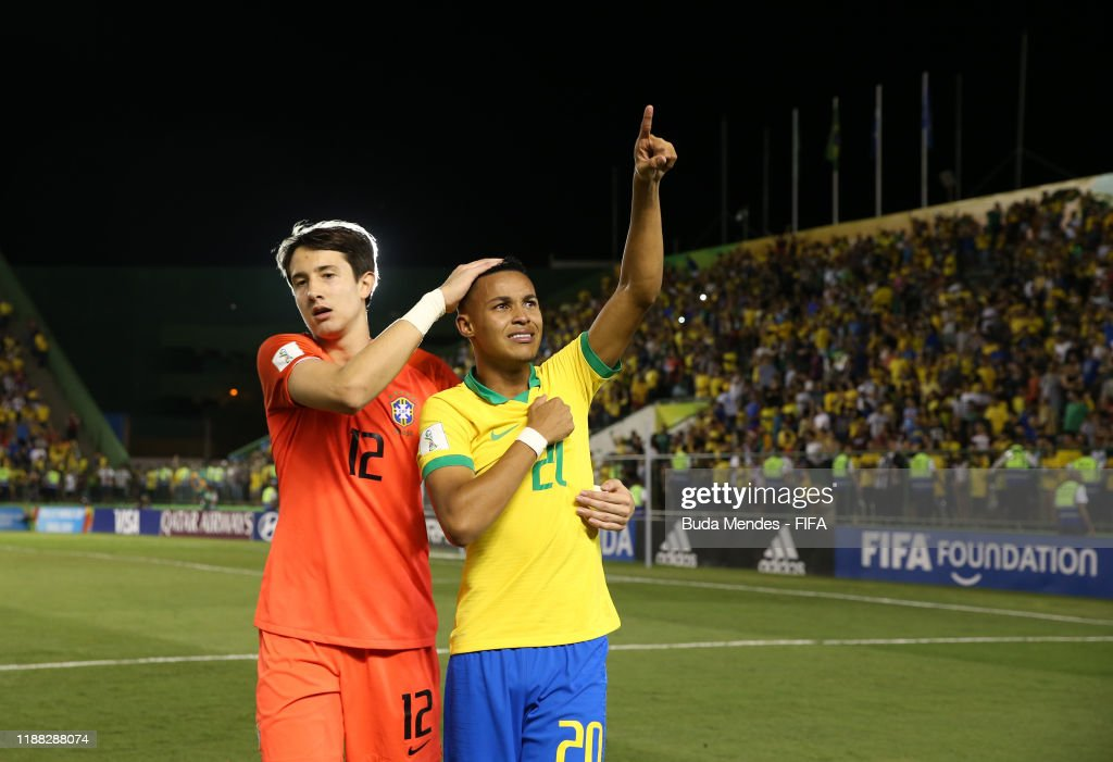 Mexico v Brazil - Final - FIFA U-17 World Cup Brazil 2019 : News Photo