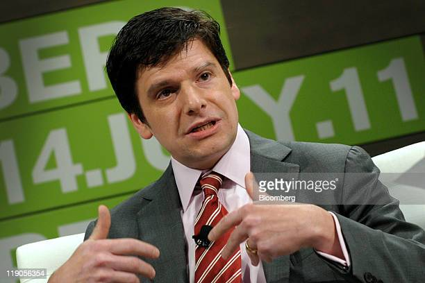 Marcelo Salomon chief Brazil economist at Barclays Capital speaks at the Bloomberg via Getty Images Brazil Conference in New York US on Thursday July...