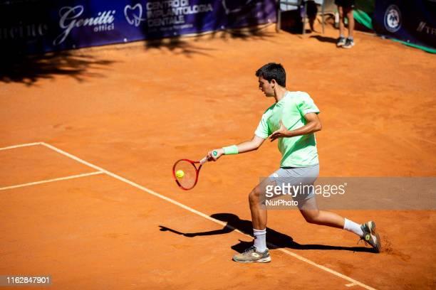 Marcelo Tomas Barrios Vera during the match between Peter Torebko and Marcelo Tomas Barrios Vera at the Internazionali di Tennis Citt dell'Aquila in...