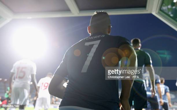 Marcelo Torres of Argentina walks out the yunnel during the FIFA U20 World Cup Korea Republic 2017 group A match between Guinea and Argentina at Jeju...