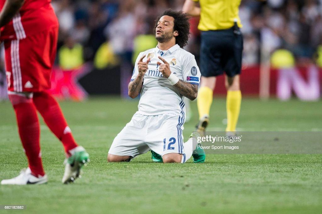 2016-17 UEFA Champions League - Real Madrid vs FC Bayern Munich : News Photo