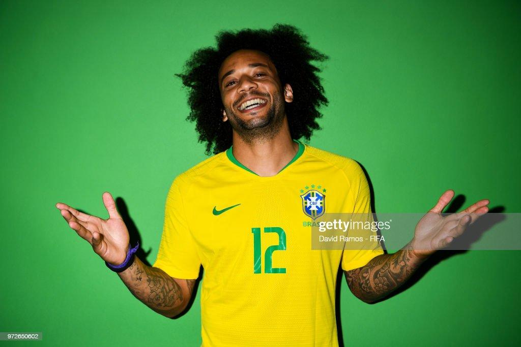 Brazil Portraits - 2018 FIFA World Cup Russia : News Photo
