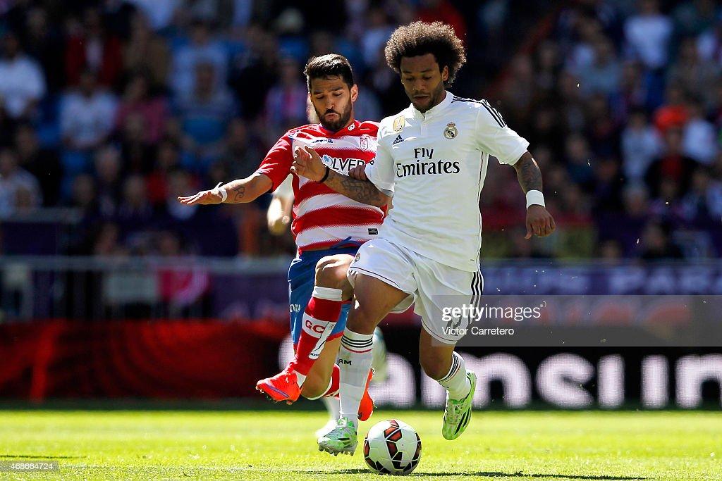 Real Madrid CF v Granada CF - La Liga : Fotografia de notícias