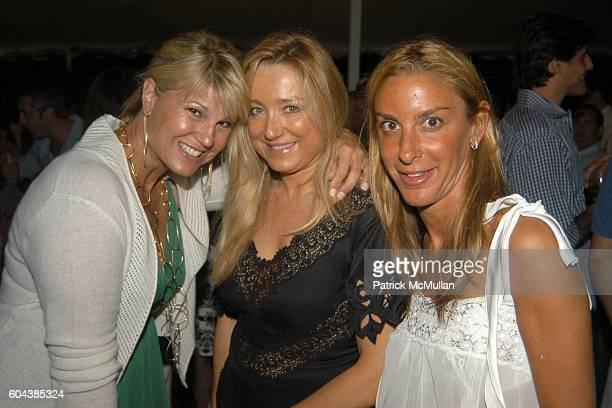 Marcey Warren Caroline Berthet and Dori Cooperman attend Cocktail Party With Steven Schonfeld Celebrating Mindy Greenblatt's Birthday at Watermill on...