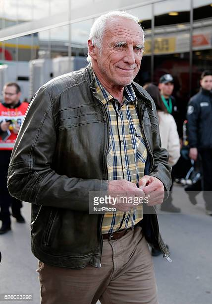 Dietrich Mateschitz Red Bull during owner during the F1 tests in the BarcelonaCatalunya Circuit on march 02 2016 Photo Joan...