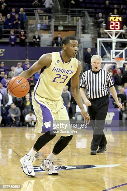 Washington's CJ Wilcox sets up to make his move to the basket against UCLA UCLA defeated Washington 9182 at Alaska Airlines Arena in Seattle...