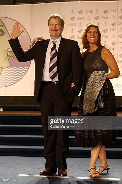 March 08 2008 Las Palmas de Gran Canarias Canary Islands Spain The Palmas de Gran Canaria International Film Festival In the image the actor Jeff...
