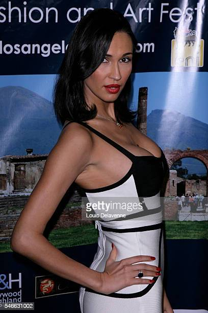 March 1 2010 5th Annual Los Angeles Italia Film Fashion Art Festival at Mann Chinese in Hollywood with Eugenia Chernyshova Revpix100301605