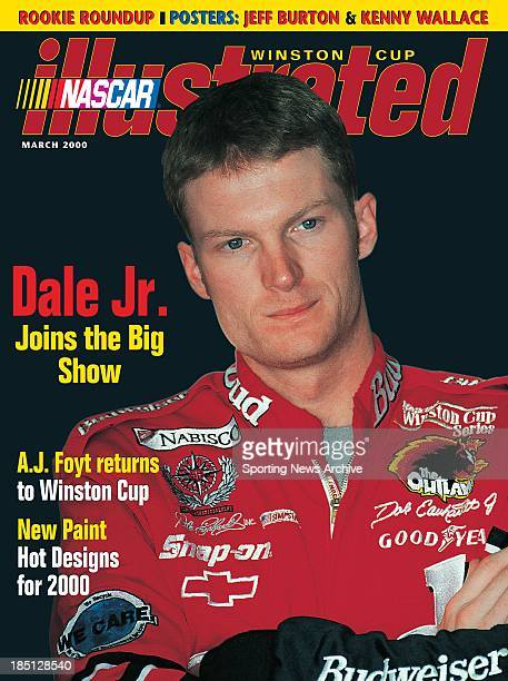 Dale Earnhardt Jr poses for a photo on March 1 2000 in the United States