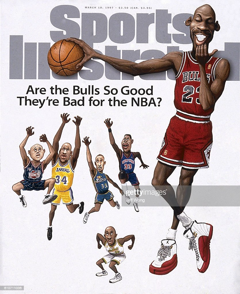 Are the Bulls So Good They're Bad For the NBA? : News Photo