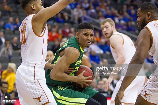Baylor Bears guard Al Freeman during the NCAA Big 12 conference mens basketball tournament game between the Baylor Bears and the Texas Longhorns at...