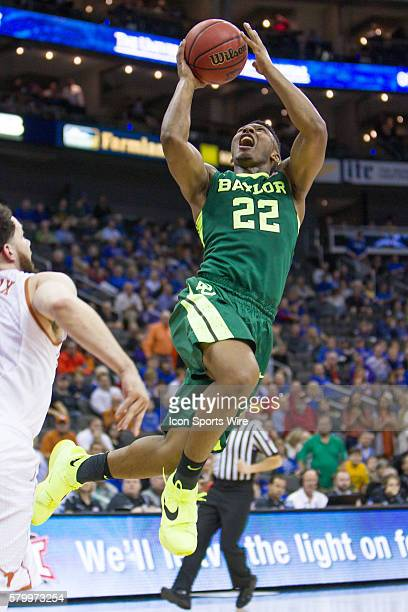 Baylor Bears guard King McClure during the NCAA Big 12 conference mens basketball tournament game between the Baylor Bears and the Texas Longhorns at...