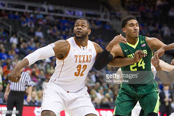 Texas Longhorns forward Shaquille Cleare during the NCAA Big 12 conference mens basketball tournament game between the Baylor Bears and the Texas...