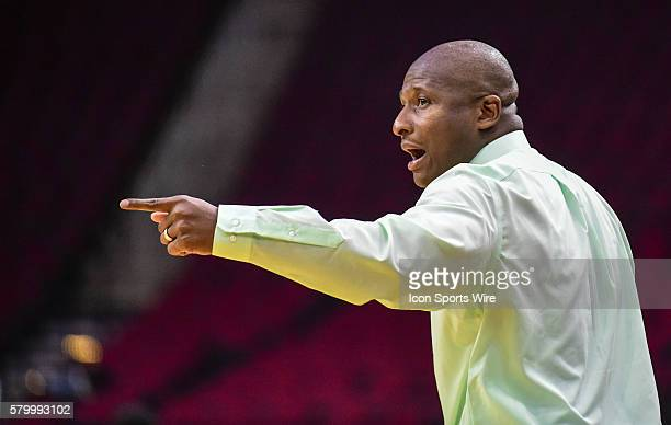 Mississippi Valley State Delta Devils head coach Andre Payne during the 2016 SWAC Men's Basketball Tournament featuring the Mississippi Valley State...