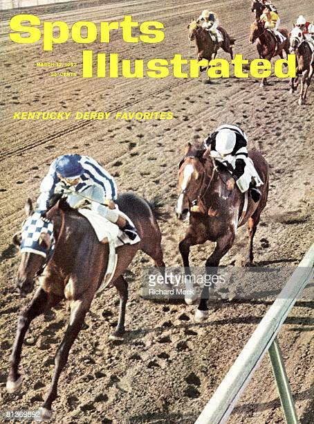 March 12 1962 Sports Illustrated via Getty Images Cover Horse Racing Bahama Stakes Miscellaneous action at Hialeah Park Racetrack Hialeah FL 2/7/1962