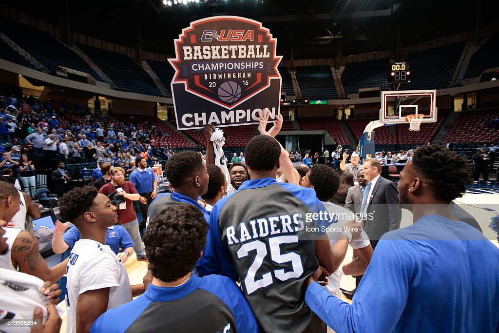 NCAA BASKETBALL: MAR 12 C-USA Championship Game - MTSU v Old Dominion : News Photo