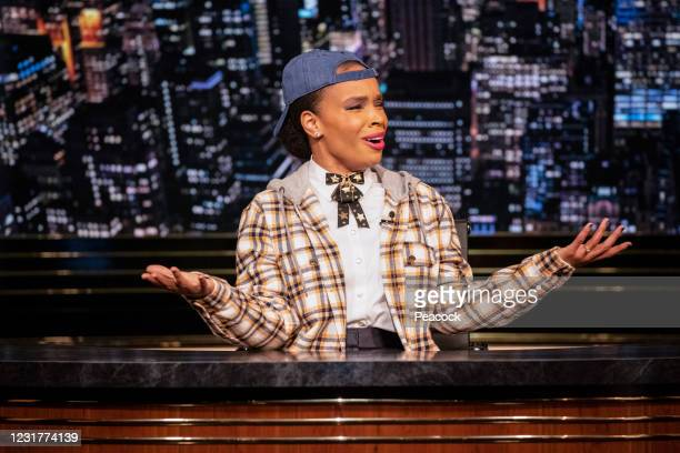 "March 12, 2021"" Episode 119 -- Pictured: Amber Ruffin --"