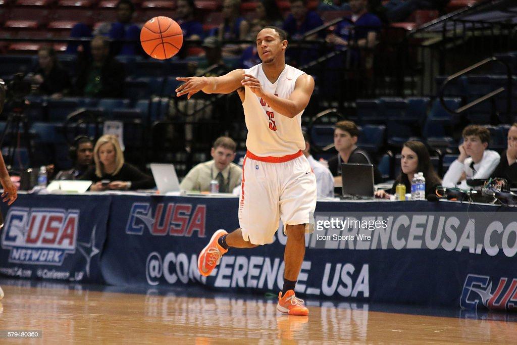 NCAA BASKETBALL: MAR 13 C-USA Championship - Middle Tennessee v UTEP : News Photo