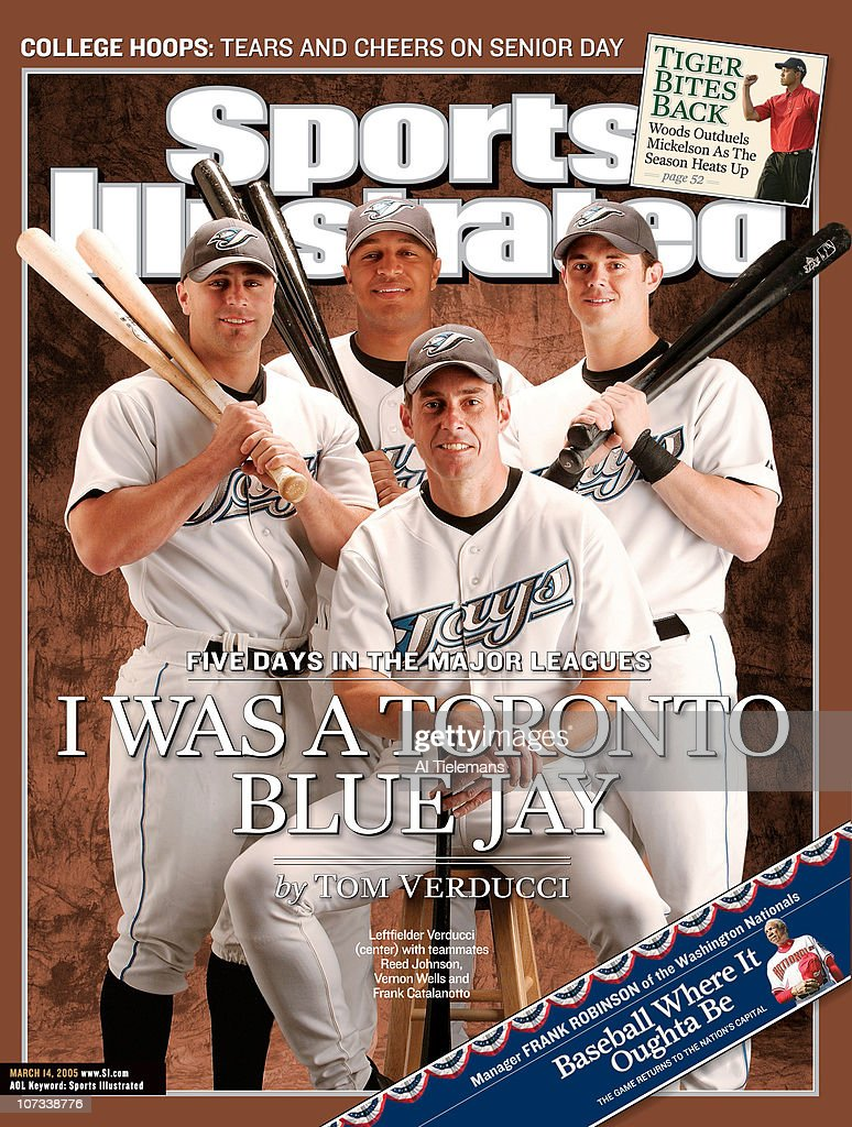 bf18a9afc04f Sports Illustrated Senior Writer Tom Verducci  I Was a Toronto Blue Jay    News Photo