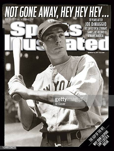 March 14 2011 Sports Illustrated via Getty Images CoverBaseball Portrait of New York Yankees Joe DiMaggio posing before gameUSA 1/1/1941CREDIT...