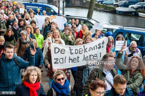 March 14th, Amsterdam. On 14 March 2018, primary education teachers from the North-West of the Netherlands go on strike for higher salaries and lower...
