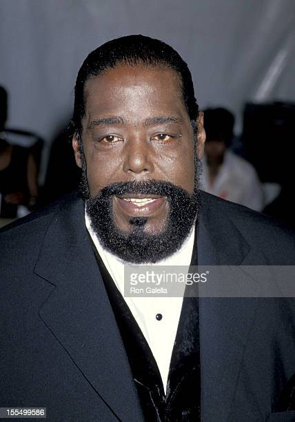 March 15 1994 file photo of Barry White at the 8th Annual Soul Train Music Awards held at the Shrine Auditorium