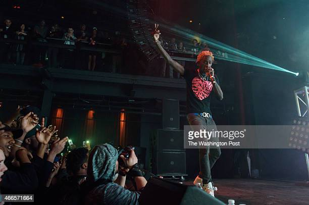 SPRING MD March 15 2015 Young Thug performs at the Fillmore Silver Spring in Silver Spring MD as part of Travis Scott's Rodeo Tour 2015 In late 2014...