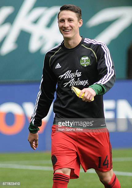 March 16, 2014 - Portland Timbers M Ben Zemanski during a Major League Soccer game between the Portland Timbers and Chicago Fire at Providence Park...
