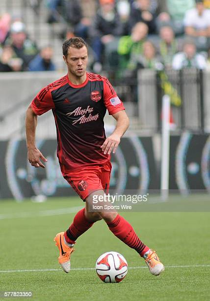 March 16 2014 Portland Timbers M Jack Jewsbury during a Major League Soccer game between the Portland Timbers and Chicago Fire at Providence Park in...