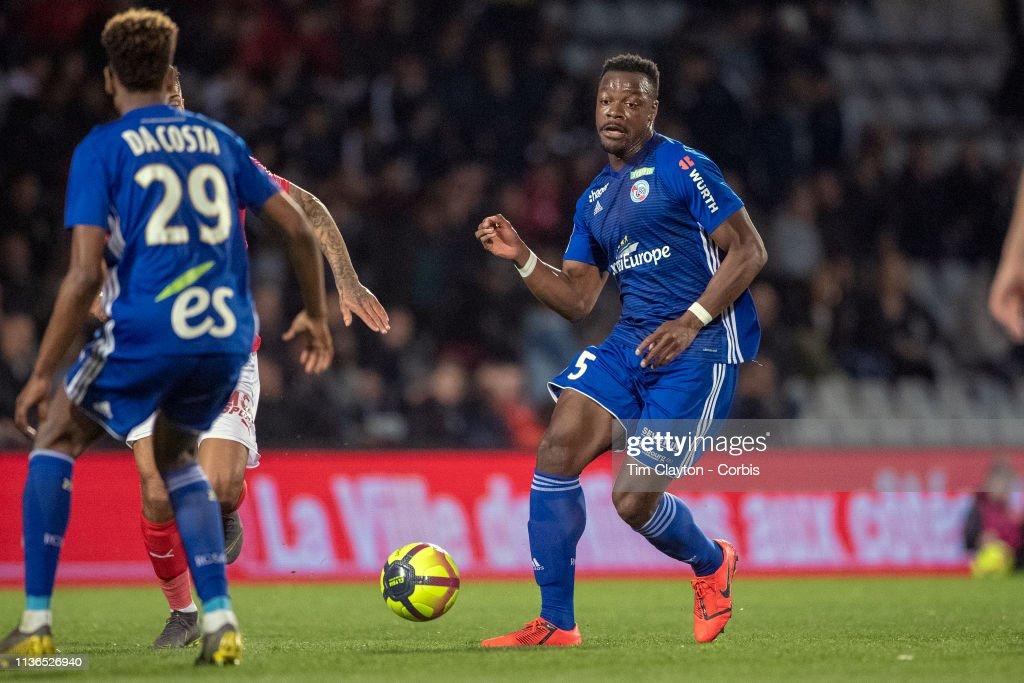 Nimes V Strasbourg, French Ligue 1. : News Photo