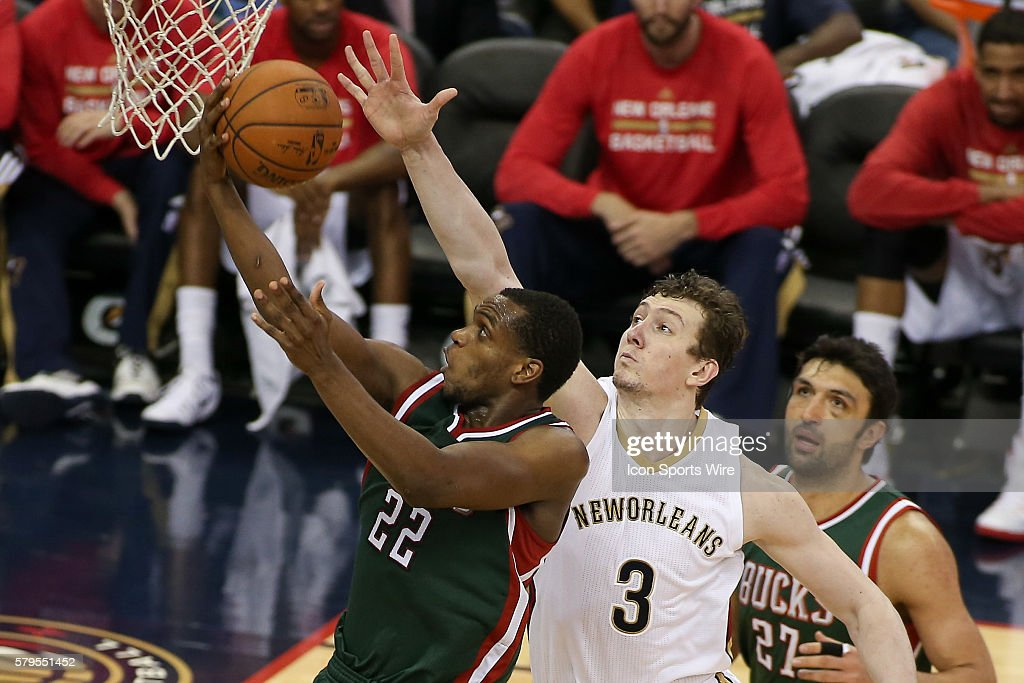 NBA: MAR 17 Bucks at Pelicans : News Photo