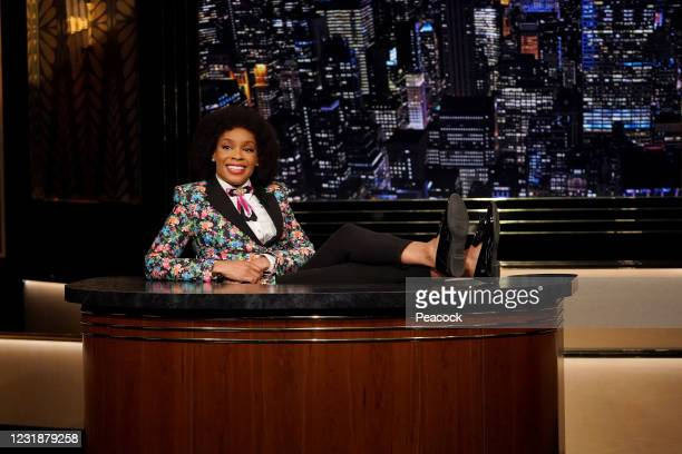 "March 19, 2021"" Episode 120 -- Pictured: Amber Ruffin --"