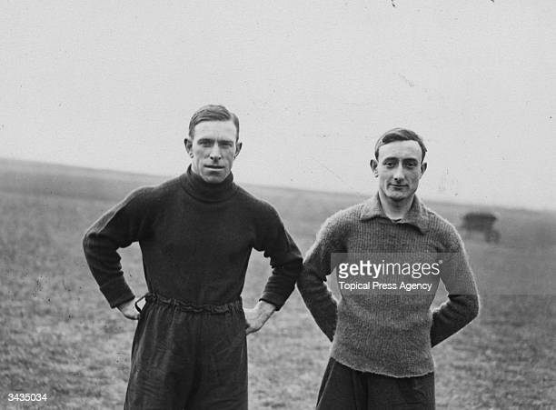 Derby County Football Club players Thornewell and Moore