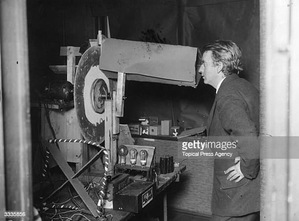 Scottish electrical engineer and inventor John Logie Baird who was born in Helensburgh and studied at Glasgow University. Baird worked as an engineer...