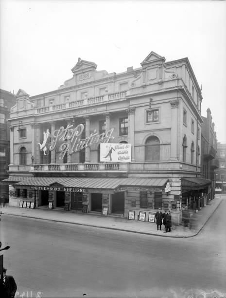 The exterior of Shaftesbury Theatre in London which...
