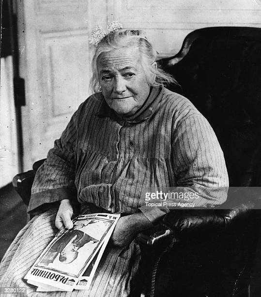 German communist leader socialist and staunch feminist Clara Zetkin who was a friend of Lenin and died in Russia