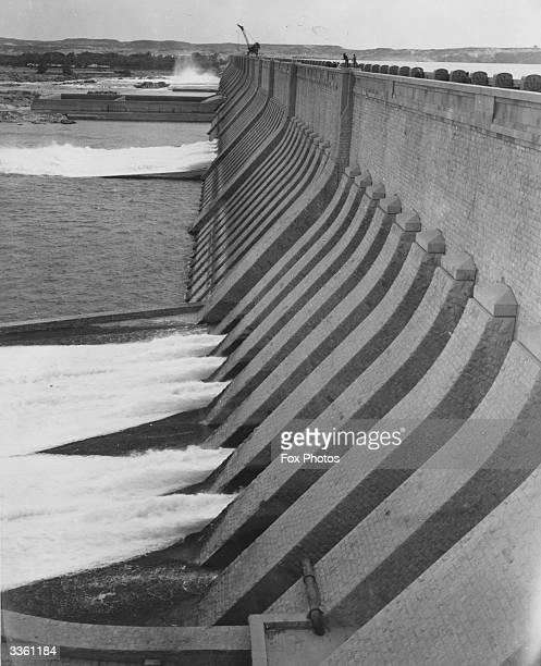 The Aswan Dam in Egypt