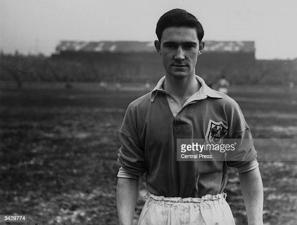 Blackpool and Scotland footballer Jackie Mudie