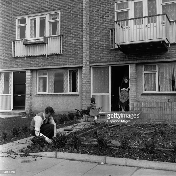 Houses in the new town of Hemel Hempstead Original Publication Picture Post 7094 The Best And Worst Of Britain Housing We're Keeping Pace But That's...
