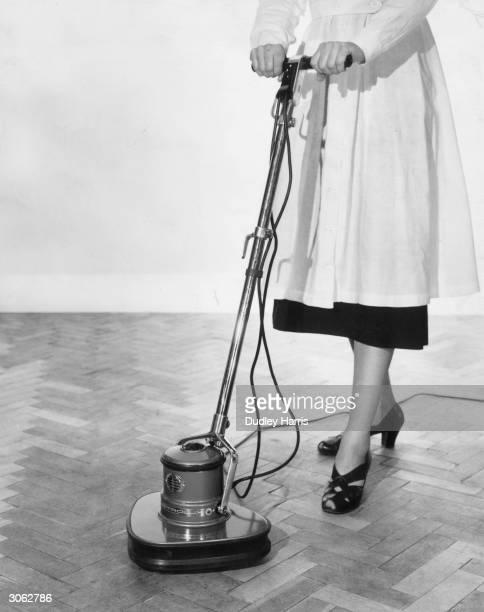 An Electrolux floor polisher