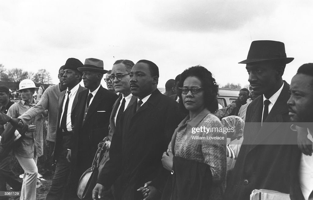 Luther King March : News Photo