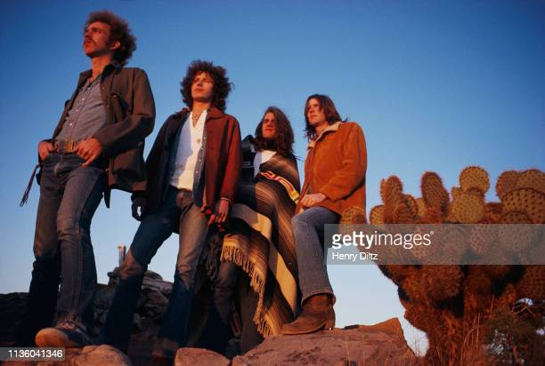 March 1972 The rock band The Eagles rest in a desert valley The Eagles were the most popular band of the seventies and their reunion tour in the...