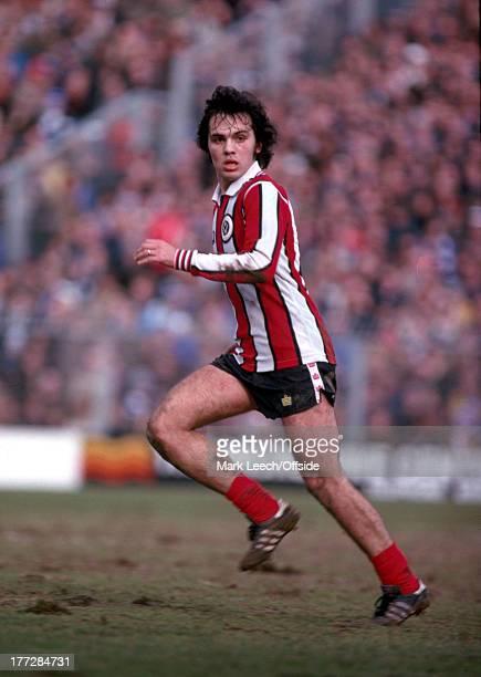 17 March 1979 English Football League Division One Brighton and Hove Albion v Sheffield United Alex Sabella