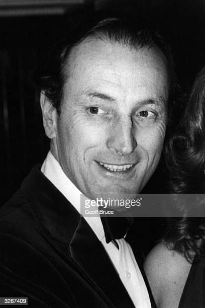 Gerald Harper British actor and radio presenter