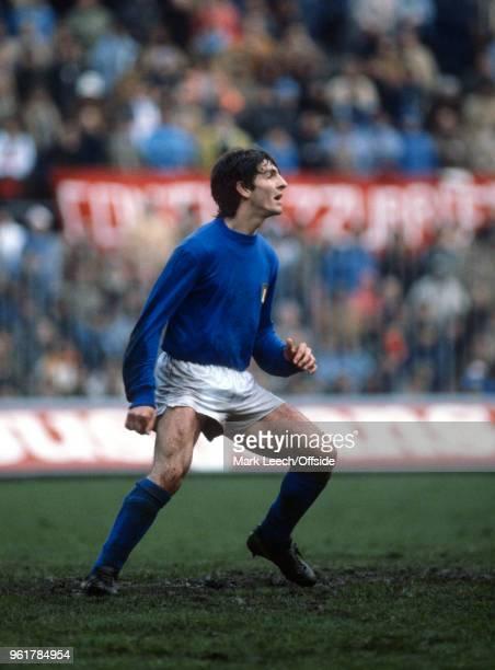 15 March 1980 Milan Friendly Football International Match Italy v Uruguay Paolo Rossi of Italy
