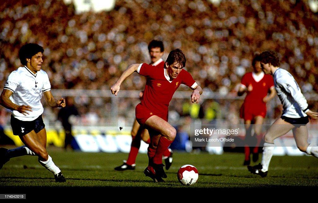 1982 Milk Cup Final : Nieuwsfoto's
