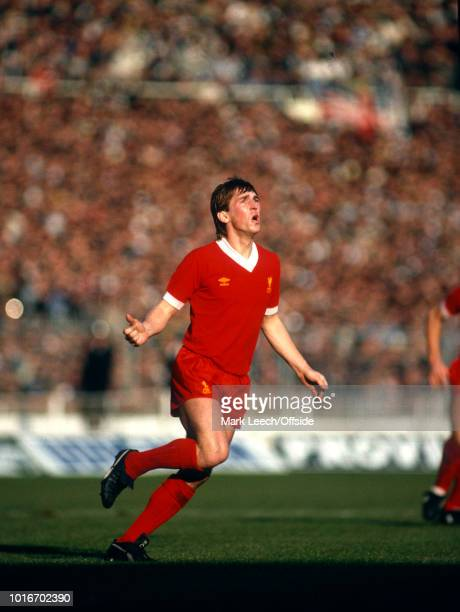 13 March 1982 Wembley Football League Cup Final Liverpool v Tottenham Hotspur Kenny Dalglish of Liverpool