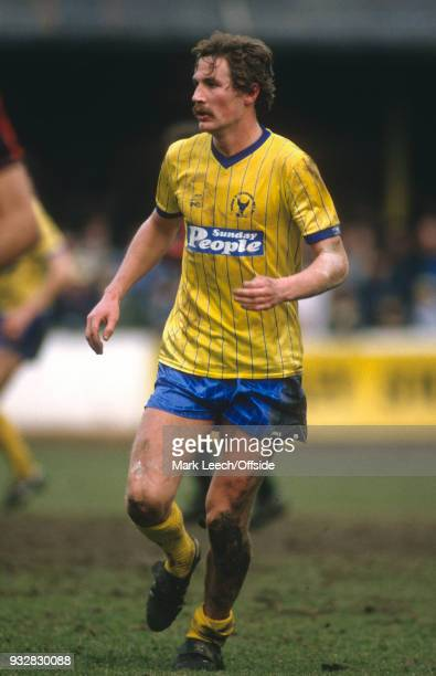 23 March 1985 Oxford Football League Division One Oxford United v Manchester City Billy Hamilton of Oxford